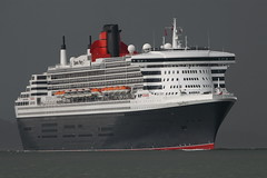 QUEEN MARY 2 (John Ambler) Tags: cruise 2 sign call ship mary ngc queen solent cunard imo mmsi dragondaggerphoto capturethefinest gbqm 9241061 queenmary2southampton 235762000