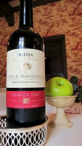 Finca Manzanos Crianza 2007 - Vino tinto de Rioja