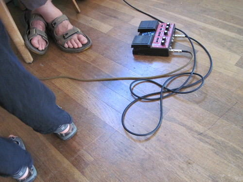 (Small) Pedal, Feet Of Father & Son