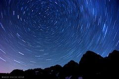 Perseid: Star Trails, Lake Ann (mj.foto) Tags: light sky lake night painting shower star washington nikon long exposure mt baker nightscape north trails astrophotography cascades ann astronomy 24mm nikkor meteor constellation shuksan polaris milkyway shootingstar perseid swifttuttle d700 markjosue