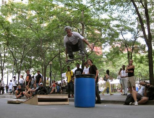 skateboarders at under pressure