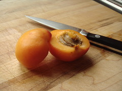 Pitting Of An Apricot