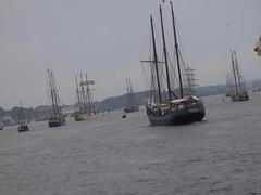 Hanse Sail Ausfahrt
