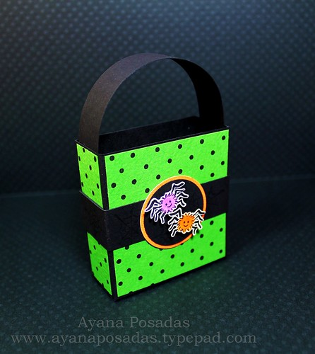 Halloween Polka-Dot Treat Bags (3)