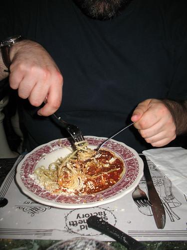 Twirling Spaghetti