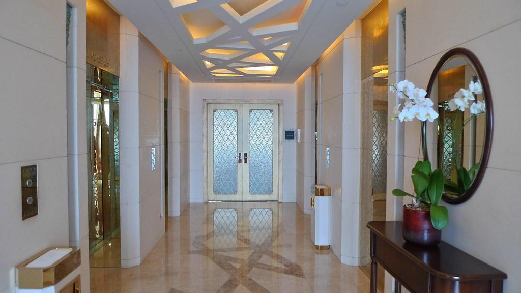 Presidential Suite Entrance