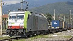 BLS!!! (Raffaele Russo (LeleD445)) Tags: cargo container ac bls treno bombardier luino traxx 508 hupac gallarate e486