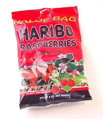 Haribo Raspberries Bag