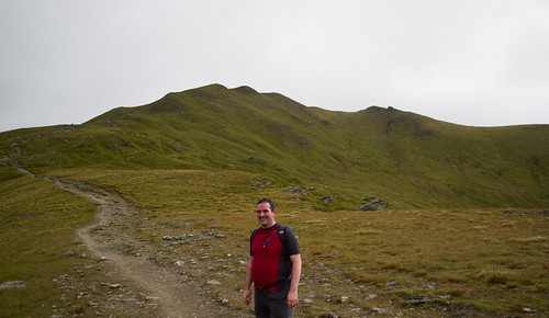 Jim on Beinn Ghlas