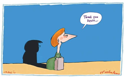 julia gillard cartoon. up Julia Gillard#39;s shadow