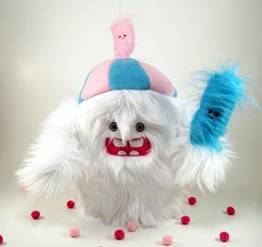 cotton candy twins (scrumptiousdelight) Tags: seattle monster toy twins plush cottoncandy schmancy scrumdiddlyumptious scrumptiousdelight