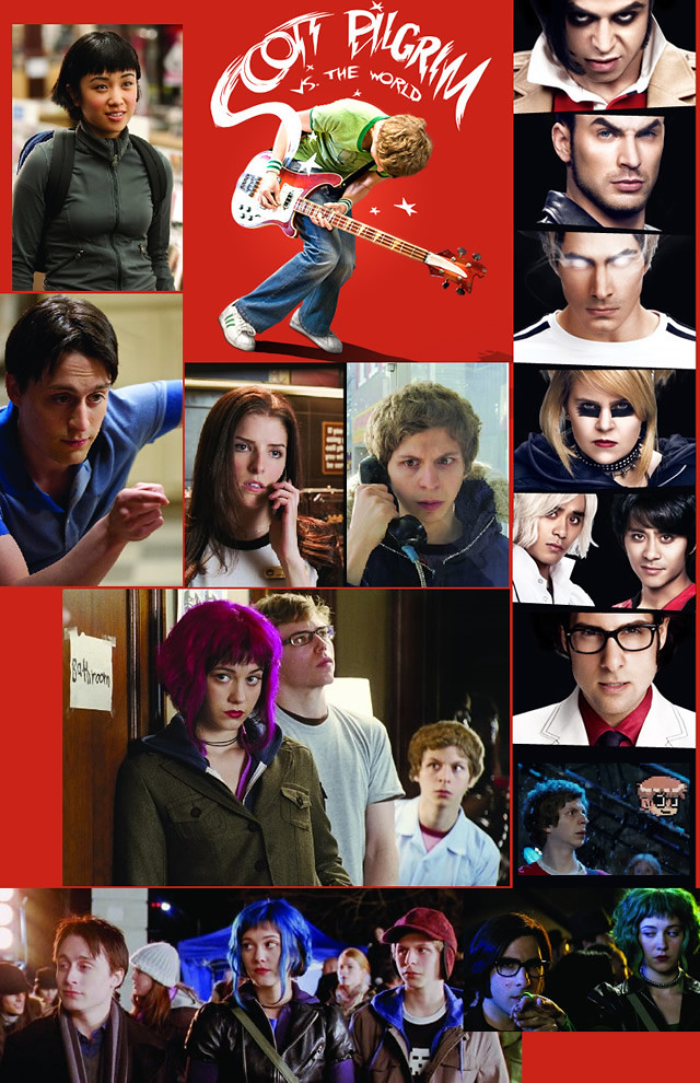 Thumb Los actores de Scott Pilgrim vs The World