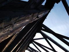Wooden Bridge (brandonpike10) Tags: sunset clouds woodenbrigde