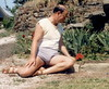 France - In Brittany at our gite - Kereon Farm (pj's memories) Tags: france male garden brittany shorts vpl bulge mensshorts plogastelsaintgermain