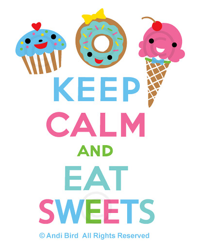 Keep Calm and Eat Sweets t shirt graphic a photo on Flickriver