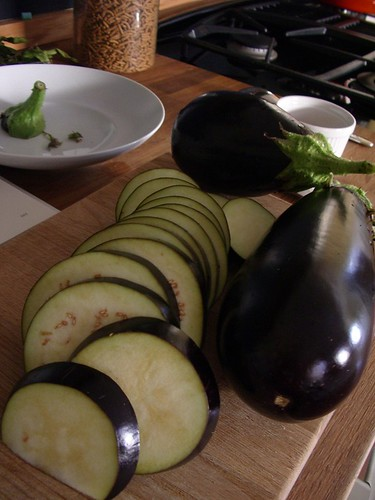 Home Grown Eggplant