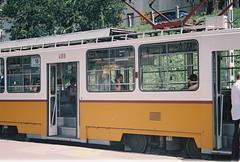 Women in the Tram (-Alec-) Tags: station women hungary 2000 fuji superia budapest tram 400 calling vivitar moskva ter xtra