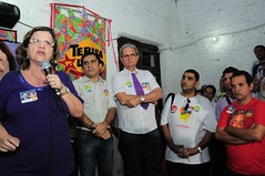 Inaugurao do Comit 13613 em Olinda. (9) (Teresa Leito (Deputada Estadual PT-PE)) Tags: teresa eleies 2010 campanha inaugurao eleitoral leitao inauguracao candidata eleicoes