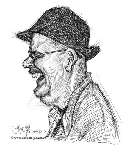 Schoolism - Assignment 1 - Sketch of Dave 2
