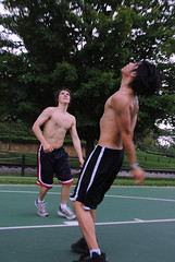 One On One On One_05 (nemo_434) Tags: shirtless men basketball guys