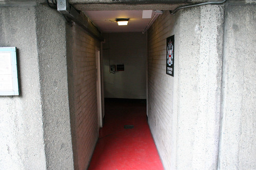 The unassuming entrance