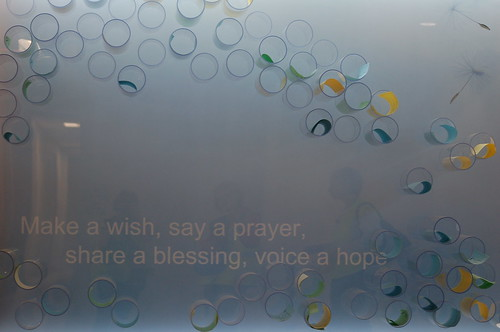 Hopes and Prayers Wall, LeBonheur Children's Hospital