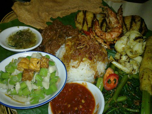 Nasi Campur Waterlily