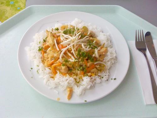 Putenbrust mit Wokgemüse