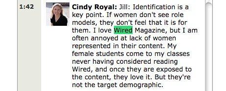 Cindy Royal on Wired