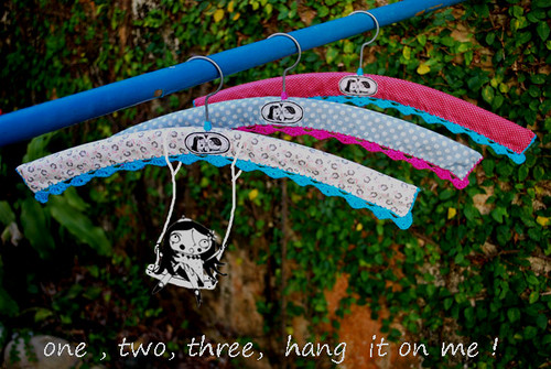 One, two, three - hang it on me! by good mood factory