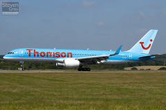 G-OOBD - 33099 - Thomson Airways - Boeing 757-28A - Luton - 100816 - Steven Gray - IMG_1470