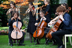 Fancy Fiddlers, Ambtswoning (Grachtenfestival) Tags: tuin grachtenfestival ambtswoning fancyfiddlers
