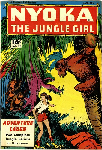 Nyoka the Jungle Girl #27