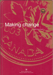 2003 Royal Canadian Mint Annual Report in English