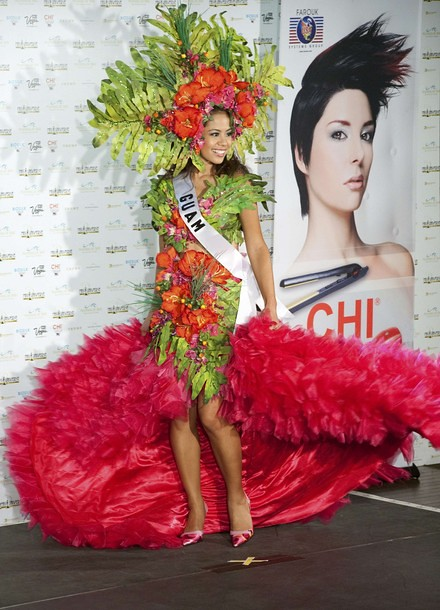National Costume of Miss Guam