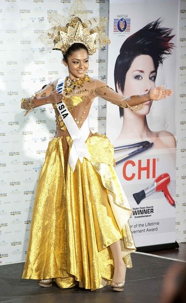 National Costume of Miss Malaysia
