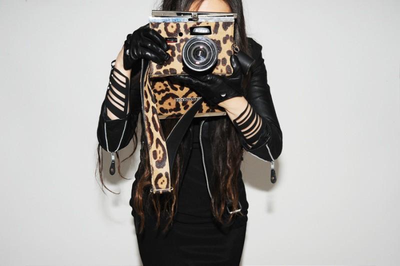 Luxirare fashion Nikon D90 camera bag 6