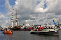 """Sail-in of """"Sail Amsterdam 2010"""" by Foto Martien"""