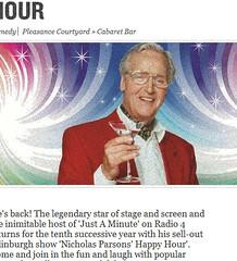 Nicholas Parsons' Happy Hour promo image