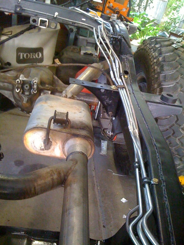 Need Advice Running 3 Fuel Lines Amp Brake Line On Driver