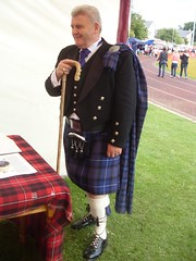 A Man in a Kilt (cessna152towser) Tags: kilt cumnock