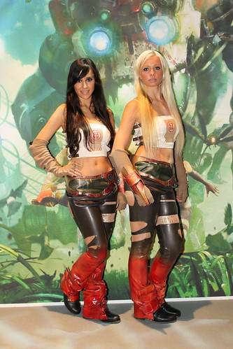 GamesCom, Games Com, Cologne, Köln, Messe Babes, Booth Babes, GamesCom 2010 by MMOTraffic1