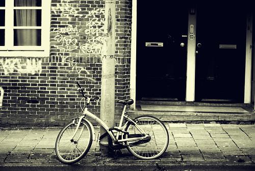 Bike in a street