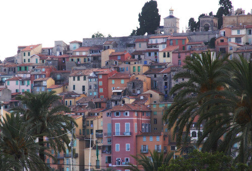 Old town in Menton -1