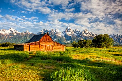 The Most Photographed Barn in America