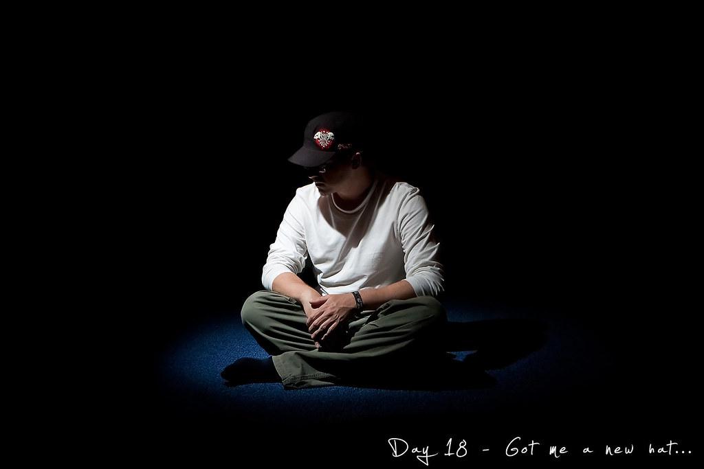 Project 365, Day 18, 018/365, self portrait, Strobist, pocketwizard