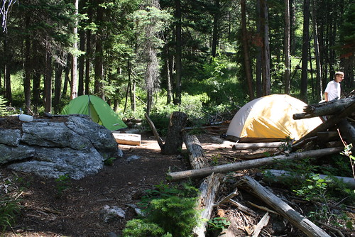 Camp at Phelps Lake