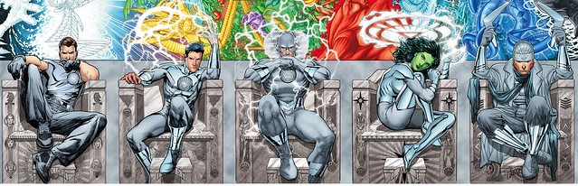 DC Comics White Lantern Maxwell Lord, Osiris, Reverse Flash, Jade, Captain Boomerang