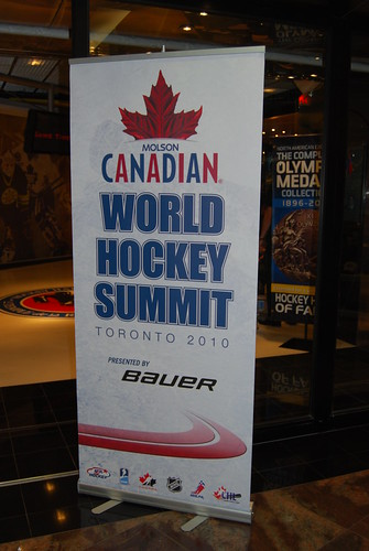Welcome to the Molson Canadian World Hockey Summit