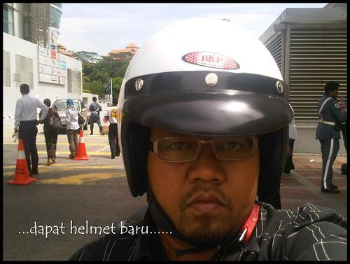 dpt helmet baru